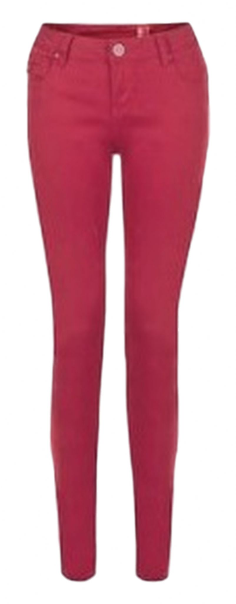 Red skinny jeans new look